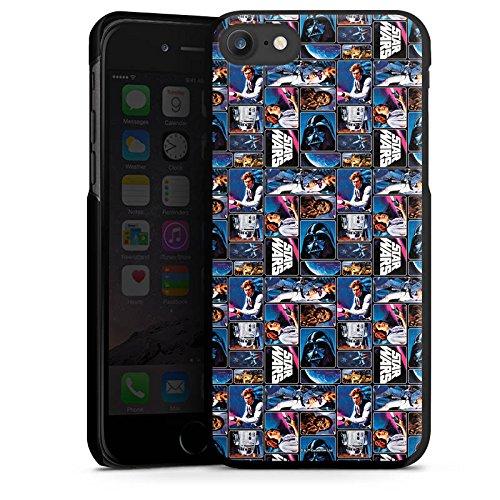 Apple iPhone X Silikon Hülle Case Schutzhülle Star Wars Fanartikel Merchandise Graphic Hard Case schwarz