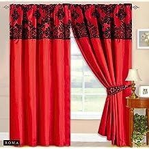 suchergebnis auf f r rote gardinen skippys. Black Bedroom Furniture Sets. Home Design Ideas