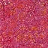Pink Venus Design 100% Baumwolle Bali Batik tie dye Muster Stoff für Patchwork, Quilten &,–(Preis pro/Quarter Meter)