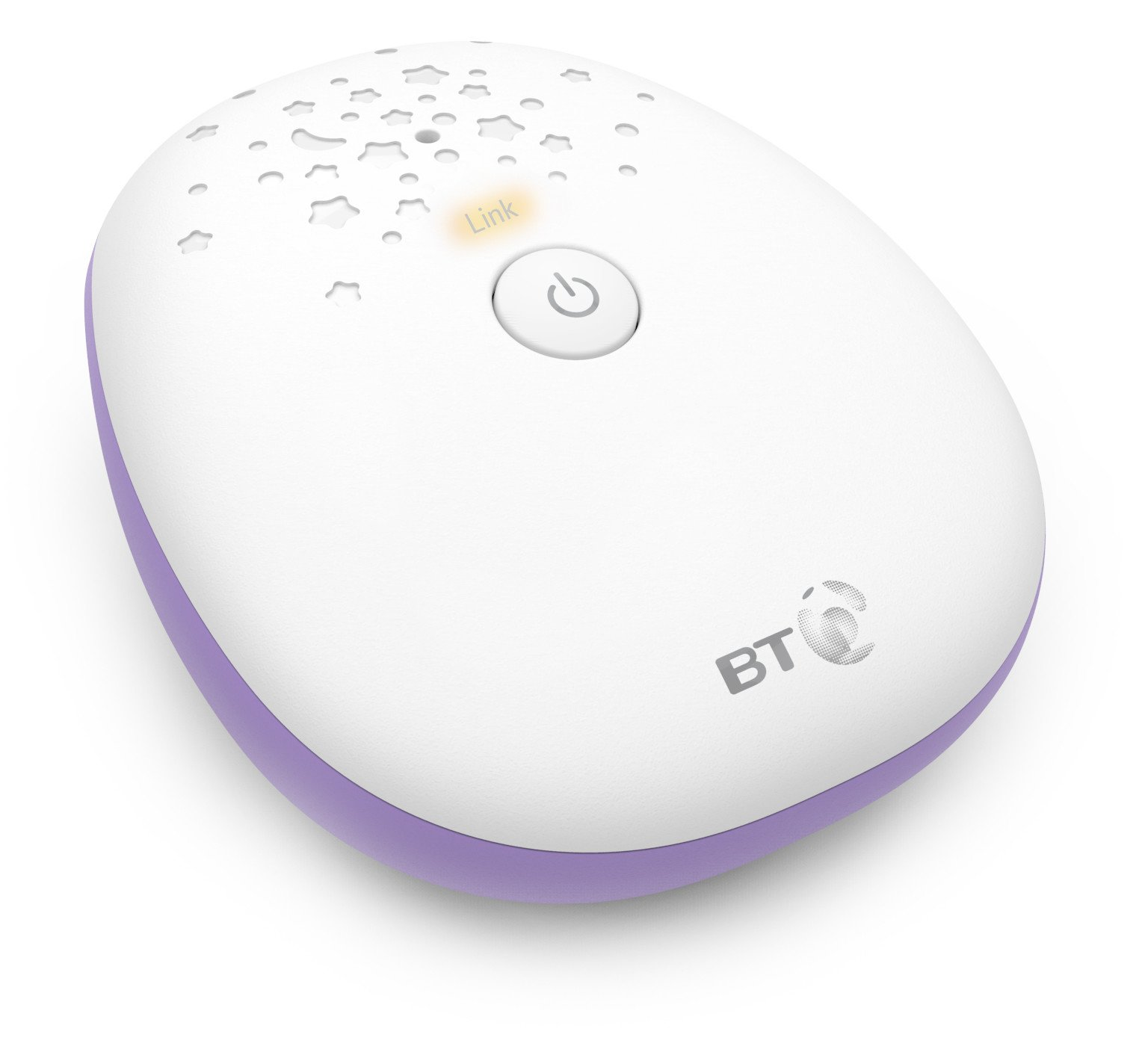BT Digital Audio Baby Monitor 400 IREALIST Interference free digital hd sound Sound sensitive leds - for visual alert The batteries are charged in the Parent unit 2