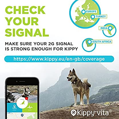 Pet GPS Tracker for Dogs and Cats by Kippy | GPS Monitoring & Activity Monitor for Dogs, Cats and more | Simply attach… 6