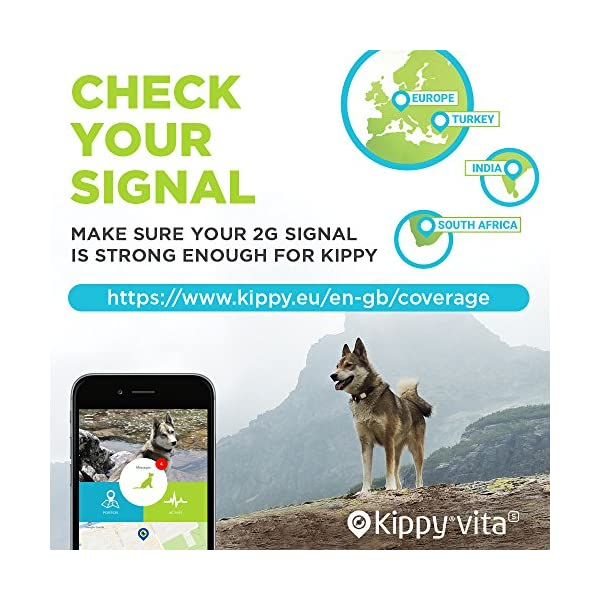 Kippy VITA - GPS Tracker and Activity monitor for pets - GPS locator for dogs and cats 6