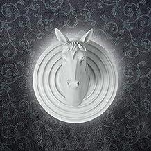 TIAMO Home Store Nordic Walled American Rústico Salón Dormitorio Retro Personalidad Creativa Cabeza de caballo Antlers Wall Lamp ( Tamaño : 3 )