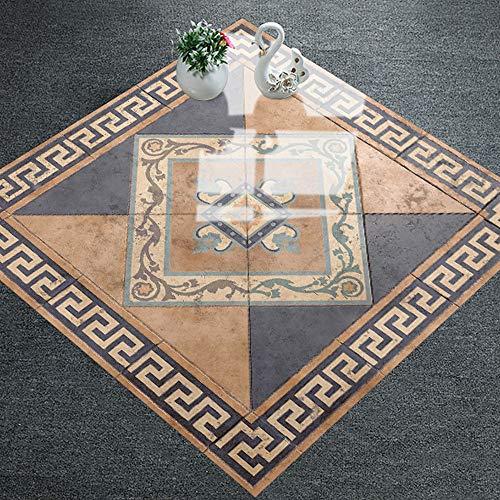 Porzellan-fliesen-böden (HARRYSTORE 1Pcs Selbstklebende Fliesen Boden Wand Aufkleber Aufkleber DIY Küche Bad Decor)