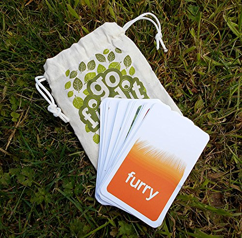 Image of gofindit - outdoor nature treasure hunt card game for families