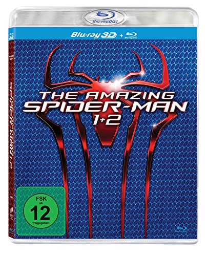 The Amazing Spider-Man / The Amazing Spider-Man 2: Rise of Electro (3D + 2D Version) [3D Blu-ray] (Amazing Spiderman 2 Electro)