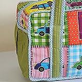 Yuga Trendy Digitaldruckwickeltasche für Mamas mit 3 Taschen Wasserdicht Innenstepp 12 x 16 x 8 Zoll - 3