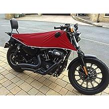 Harley Davidson Sportster Moto funda de viaje negro rosso mediano