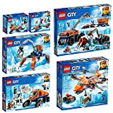 LEGO City Artic Set 60190 60191 60192 60193 60194 60195
