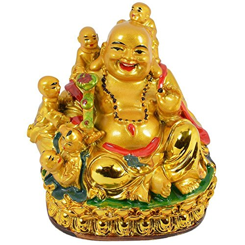 Odishabazaar Feng Shui Laughing Buddha With Childs