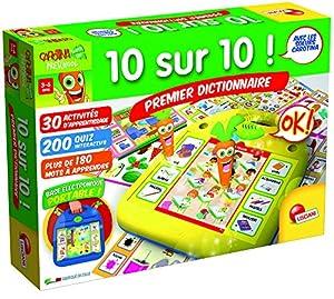 Lisciani-f54251-Juegos Educatifs-Carotina 10sobre 10-Primer Diccionario