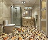 XLi-You 3D Tapete Fresko Die 3D Ins Wohnzimmer Fußboden Anpassen - Shopping Aufkleber Dekor Tipps Bad Wasserdicht Gans Mit Soft Rock Eingerichtet Wandmalerei Hintergrundbild 150cmX100cm