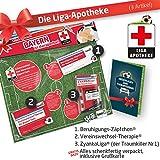 Therapie Geschenk-Set: 2 - Die Liga-Apotheke für FCB-Fans | Für Fans von FC Bayern München Trikots, Home Away Stutzen Shorts Hoodie