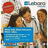 Lebara-pay-as-you-go Kombi Sim-karte