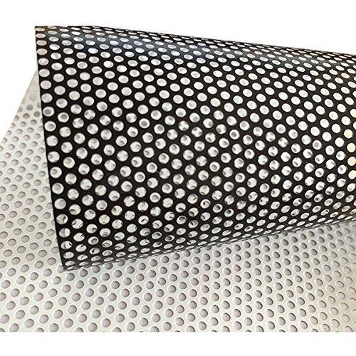 Einseitige perforiert Vinyl Sichtschutz Fensterfolie Sichtschutzfolie selbstklebend Glas Wrap Rolle Maße 137x 30cm - Base Vinyl