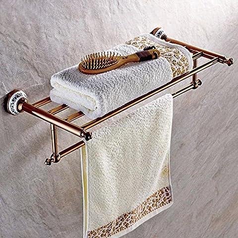 Bagno asciugamano americano rame e oro rosa oro nera blu