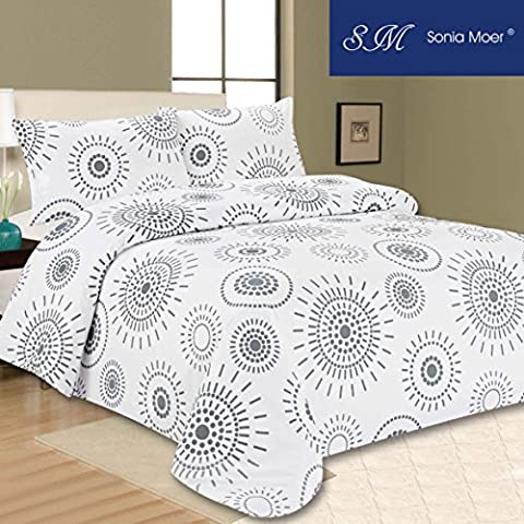 Premium Duvet Cover Set by Sonia Moer - Indian Ink