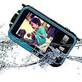 PowerLead Doppelte Bildschirme Wasserdichte Digitalkamera 2.7-Zoll-Front LCD mit 2.8inch Kamera