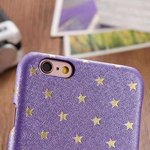 iPhone Case Cover Housse de protection pour iPhone 6 / 6S, couverture de couleur unie avec étui rigide en plastique pour iPhone 6 / 6S ( Color : G , Size : IPHONE 6/6S ) A