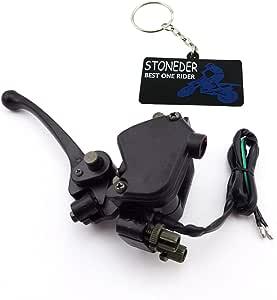 Stoneder Thumb Throttle Accelerator Support Handle Brake Lever For 50 Cc 70 Cc 90 Cc 110 Cc 125 Cc 150 Cc 250 Cc Chinese Atv Quad 4 Wheeler Auto
