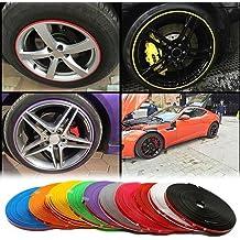 Fligatto Anillo protector de llantas de aleación de 8 m, para neumáticos y neumáticos,