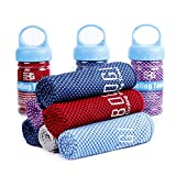 Best Cooling Towels - BOGI Cooling Towel For Instant Cooling-(100cm) x(30cm)–Like Cooling Review