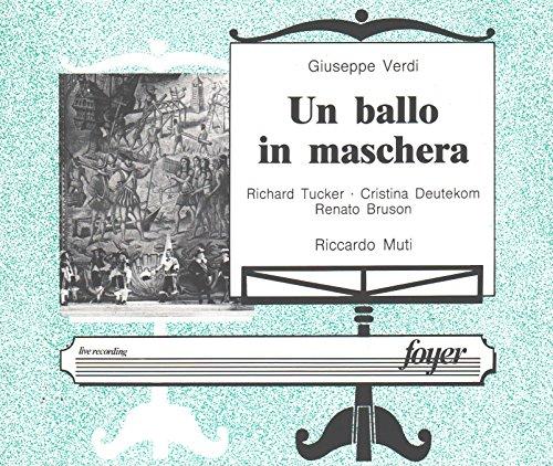 Verdi:Un Ballo In Maschera