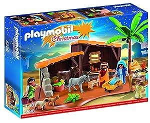 Playmobil Playmobil-5588 Navidad-Playset Bel&ampeacuten,, 39.9 x 29.7 x 7.4 (5588