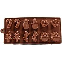 gla/çons gel/ée bonbons biscuits savon cupcakes CaLeQi Ensemble de moules en silicone pour chocolat