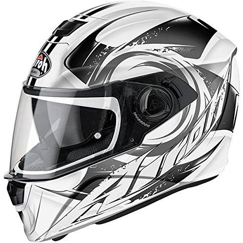 Airoh STA16 Storm Anger- Casco per moto, colore grigio (Grey Gloss), XXL