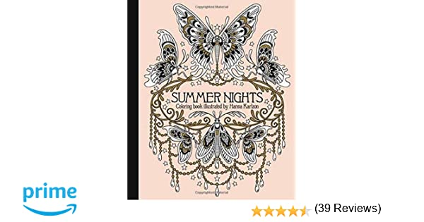 Dream Cities Coloring Book Review Summer Nights Daydream Series Amazonco