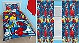 Spiderman webhead Single Bettbezug und passende 167,6x 182,9cm Drop Vorhänge