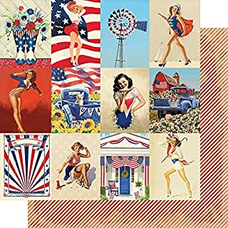 Authentique Paper Liberty Double-Sided Cardstock 12