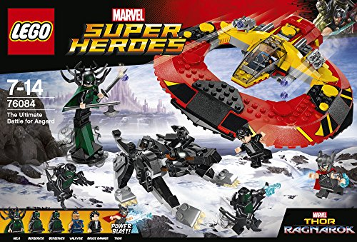 LEGO Super Heroes - La Batalla definitiva por Asgard (76084)