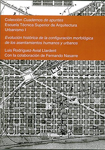 Evolución histórica de la configuración morfológica de los asentamientos humanos y urbanos: Colección Cuadernos de apuntes. Urbanismo I por Luis Rodríguez-Avial Llardent