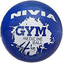 Nivia Medicine Ball, 4kg (Purple)