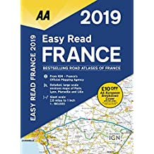 Easy Read France 2019 Flexibound (AA Road Atlas France)