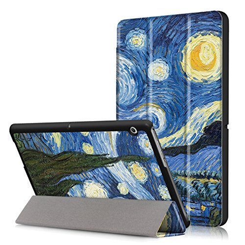 27 - Zire Huawei MediaPad T3 10 Funda, Chasis portátil [Ultra-Delgado] [Ultra-Ligero] Smart Tablet PC Holder para Huawei MediaPad T3 10 Tableta -11