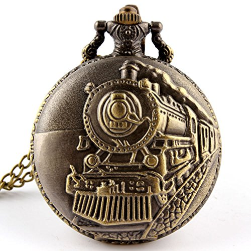 vintage-steam-train-railway-chimney-front-view-bronze-pocket-watch-with-chain
