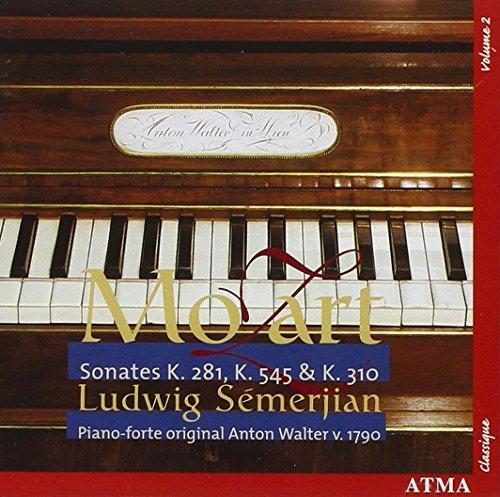 Mozart Sonatas K. 545, K. 281, & K. 310 (2005-03-01)