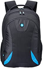 """HP 15.6"""" Polyester Black and Blue Laptop Backpack"""