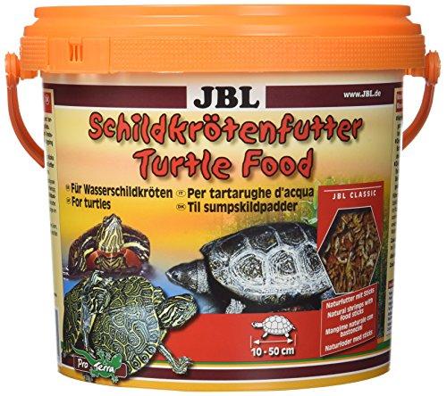 JBL 70365 Hauptfutter für Wasserschildkröten, 1er Pack (1 x 2,5 l)
