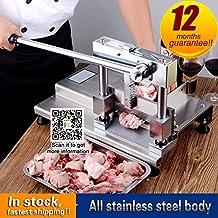 Yoli® comercial guillotina cortador sierra de cinta se puede lavar a máquina manual de acero inoxidable hueso Trotters, tubo de la máquina de corte para Pig Bone, Spareribs con una hoja