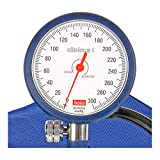 boso dbclin01_ B clinicus I, Klettverschluss Manschette Erwachsene, 60mm Durchmesser, blau Zifferblatt