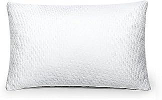 Sable Cuscino da Letto con Memory Foam Certificata CertiPUR-US (20% più Imbottitura e Zip YKK, Fibra di bambù...
