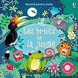 Telecharger Livres Les bruits de la jungle Mon livre sonore a toucher (PDF,EPUB,MOBI) gratuits en Francaise