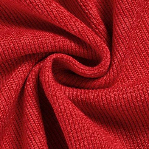 Comeon -  Felpa con cappuccio  - Tunica - Senza maniche  - Uomo Red