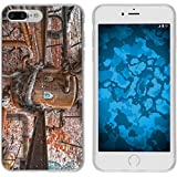 PhoneNatic Case für Apple iPhone 8 Plus Silikon-Hülle Urban M1 Case iPhone 8 Plus Tasche + 2 Schutzfolien