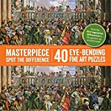 Masterpiece Spot the Difference: 40 Eye-Bending Fine Art Puzzles