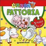 Babies Kids Best Deals - Fattoria. Con 5 puzzle
